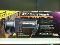 1500 Lbs Portable ATV Winch