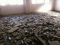 Parquet flooring blocks solid