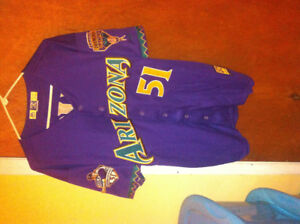 Randy johnson retirement night arizona diamondbacks jersey 3xl