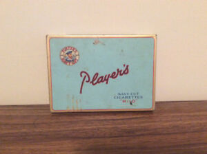 Antique Players Cigarette Box - $10 (Lynn Valley)