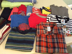Boy's clothes most up to 2 yrs old, some to 5 yrs old, most $1pc
