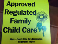 APPROVED REGULATED FAMILY DAYHOME IN AUBURN BAY S.E