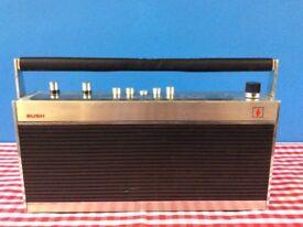 Vintage Bush VTR 173 Radio