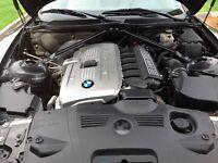 2006 BMW Z4 Bleu Cabriolet