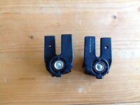 Bugaboo geco, frog, cameleon 1,2 hood clamp/clip