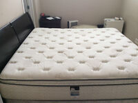 King size Bed with Head Board
