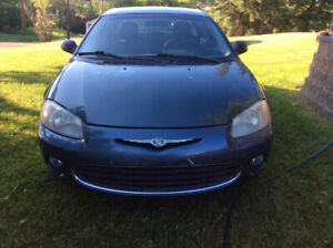 CHRYSLER SEBRING  2003 $1,800.00