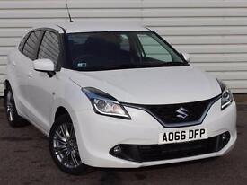 Suzuki Baleno SZ-T 1.0 Turbo Petrol Manual 5 Door White 2016