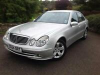 Mercedes-Benz E200 Kompressor 1.8 auto Avantgarde , clean genuine 74,000 miles