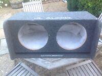 JL Audio speaker enclosure