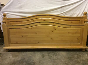 King size head and foot boards