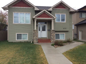 First mo FREE, Lower suite ,new house, North Red Deer $1000/mo.