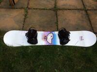 Wild Duck snowboard