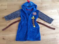 M&S mike the knight dressing gown