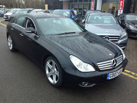 2007 Mercedes-Benz CLS320 3.0CDi 7G-Tronic 320 FMBSH I OWNER X DEM SAT NAV