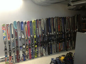 Liquidation de skis alpin