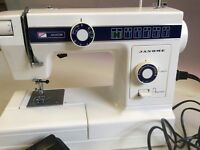 Janome Sewing Machine Excellent Condition Model 109/110