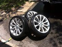 SET OF OEM BMW RIMS - GOOD CONDITION - 3SERIES - CHEAP !!!!