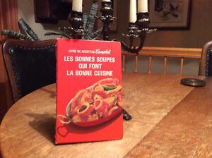 les bonnes soupes qui font la bonne cuisine CAMPBELL an 73 +79