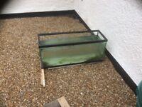 3FT open toped aquarium vivarium fish tank