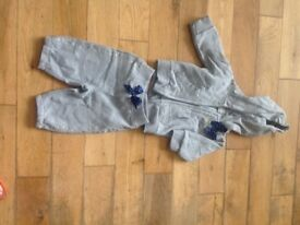 Baby tracksuit grey 3/6 months