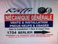 Auto mechanic & repair, tires........