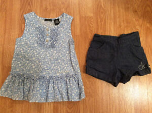 Girls 5t Calvin Klein outfit
