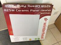 425 watt Ceramic panel heater