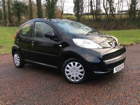 Peugeot 107 1.0 12v Urban New Mot Cheap small car £20 Tax