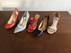 Gorgeous size 6 Shoes.  5 Pairs - $75 for the lot!
