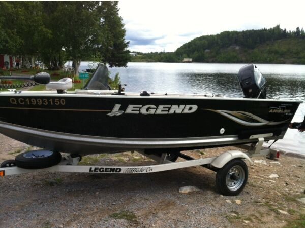 Used 2009 Legend Boats Legend Angler 151