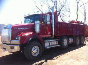 2014 Western Star Tri-Axle Dump Truck