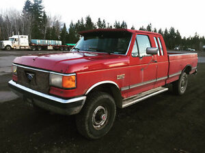 WANTED: 1989-1991 Ford F-250 Pickup Truck