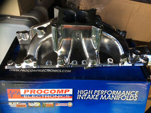 NEW  SB Ford Parker Polished Aluminum Intake Manifold London Ontario image 1