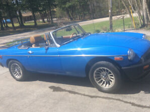 Origional 1976 MGB. Never restored