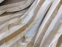 Heavy Silk Interlined Curtains