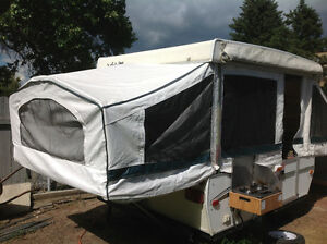 Fold down tent trailer for sale