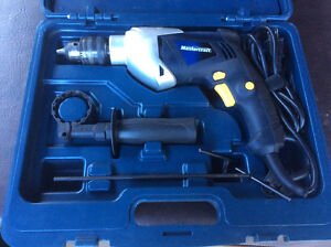 Perceuse 1/2 à percussion - Mastercraft - 1/2 Hammer drill kit