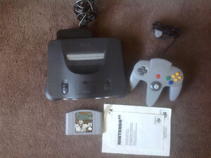 N64 system with game