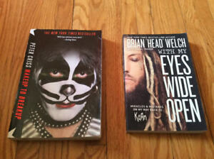 KISS and KORn books