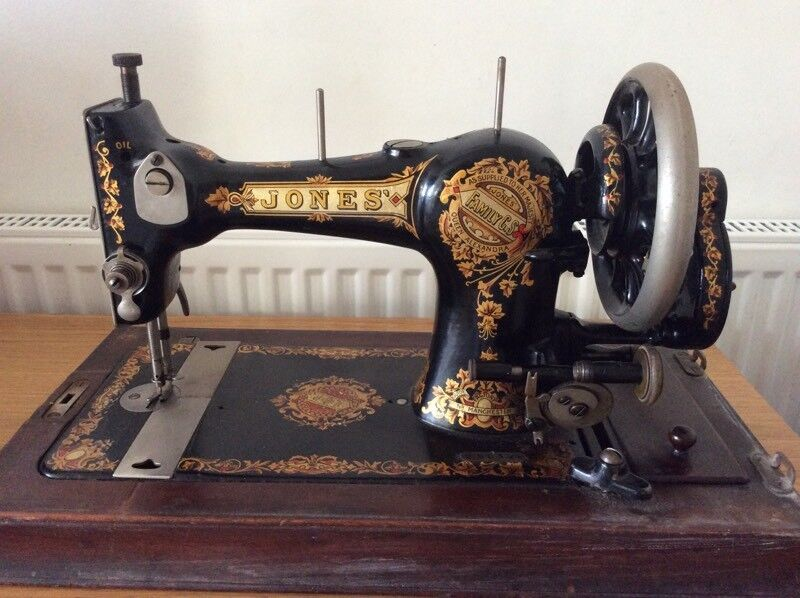 Vintage Limited Edition Jones Manual Sewing Machine In Edgware Inspiration Jones Sewing Machine Manual