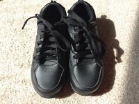 New Leather boys school shoes 13 m&s