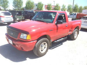 2002 Ford Ranger Edge 4x2  stepside, NEW MVI  3.0 litre 131 ks