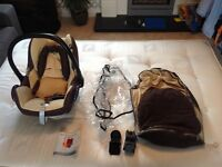 Amazing iCandy Cherry (fudge) travel set with carseat, isofix & lots more