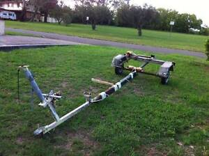 Trailer (Boat Trailer) and old boat Werrington County Penrith Area Preview