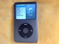 Classic retro Apple iPod touch 160gb 7th generation version 2