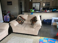 Comfy couch & Loveseat For Sale!