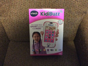 VTech KidiBuzz Hand-Held Smart Device PINK Real Phone For Kids