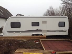 Hobby 645 VIP Caravan 2011 With Full All Weather Awning