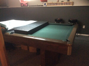 PRICED FOR QUICK SALE - SLATE POOL TABLE